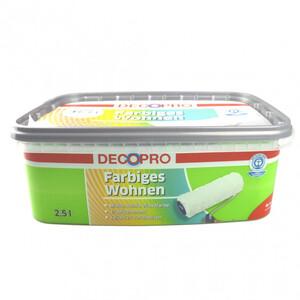 DecoPro Wandfarbe 2,5 Liter pistazie matt