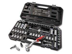 PARKSIDE® Steckschlüsselsatz »PSSS 65 A1«, 65-teilig