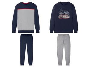 LIVERGY® Pyjama Herren, Gummizugbund, mit Baumwolle