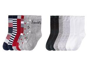 PEPPERTS® Kinder Socken Mädchen, 7 Paar, mit Baumwolle