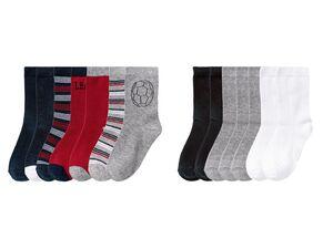 PEPPERTS® Kinder Socken Jungen, 7 Paar, mit Baumwolle