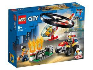 LEGO® City 60248 »Einsatz mit dem Feuerwehrhubschrauber«