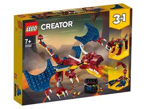 LEGO® Creator 31102 »Feuerdrache«, 3-in-1-Set