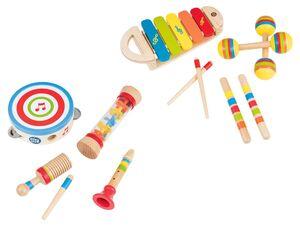 PLAYTIVE® Kinder Musikset, mit 4 Musikinstrumenten