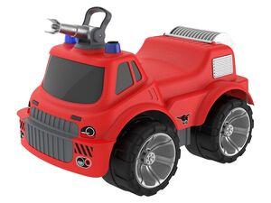 BIG Spielfahrzeug »Power-Worker Maxi Feuerwehr«, mit Wasserspritze, ab 2 Jahren