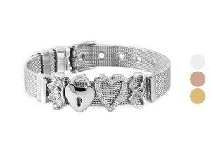 Heideman Mesh Armband Damen aus Edelstahl, mit echten Eye-Catcher-Qualitäten