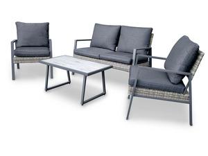 bellavista - Home & Garden®  Alu-Lounge »Nizza«, 4-teilig