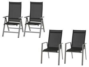 SIENA GARDEN Gartenstuhl Set »Argos«, 2-teilig