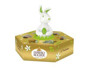 Ferrero Rocher mit Keramik-Hase