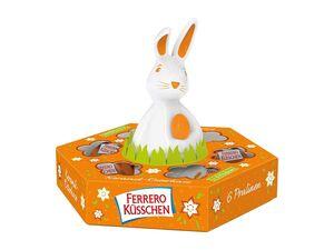 Ferrero Küsschen mit Keramik-Hase
