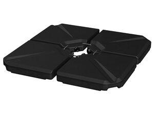 FLORABEST Einlegeplatten für Ampelschirme, 4 Stück