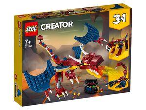 LEGO® Creator 31102 »Feuerdrache«