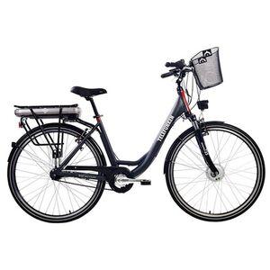 "Telefunken RC657 Multitalent Alu-E-Bike City 28"" 7-Gang Shimano Nexus anthrazit"