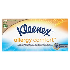 Kleenex®  allergy comfort™ Box