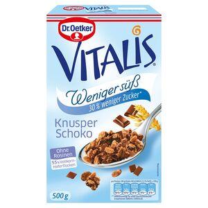 Dr. Oetker Vitalis Weniger süß 500 g
