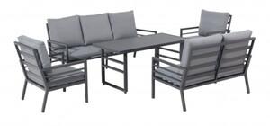 TrendLine Dining Lounge Möbelset Terracina inkl. Auflagen