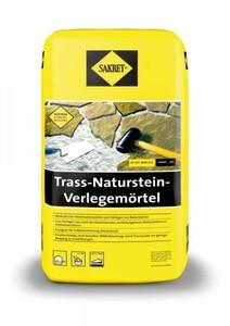 Sakret Trass-Natursteinverlegemörtel ,  grau, 25 kg