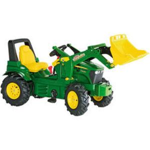rolly® toys Trettraktor John Deere mit Zweigangschaltung & Luftreifen
