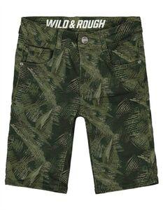 Jungen Shorts mit Camouflagemuster