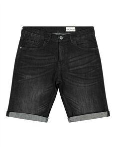 Herren Jeansshorts mit fixiertem Beinumschlag