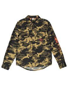 Jungen Hemd mit Camouflagemuster