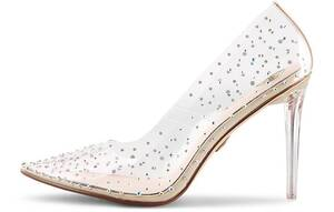 Buffalo, High-Heel-Pumps Juliana in silber, High Heels für Damen