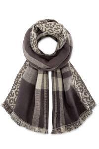 COX, Trend-Schal in hellgrau, Tücher & Schals für Damen