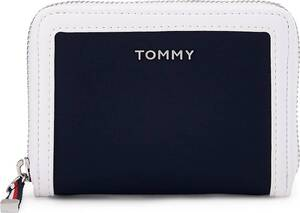 Tommy Hilfiger, Geldbörse Nylon Medium Za in dunkelblau, Geldbörsen für Damen