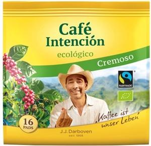 Darboven Bio Cafe Intencion ecologico Cremoso Fairtrade 16ST 112G