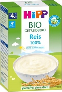 Hipp Bio Getreidebrei 100% Reis nach dem 4.Monat 200G