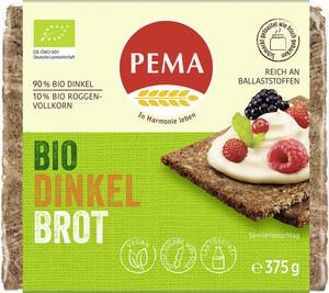 Pema Bio Dinkel Brot 375G