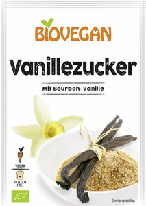 Biovegan Vanillezucker 4x 8G