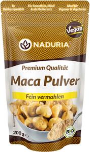 Naduria Bio Maca Pulver fein vermahlen 150 g