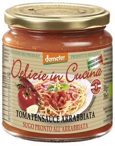 Demeter Bio Delizie in Cucina Tomatensauce Arrabbiata 300G