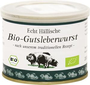 Echt Hällische Bio Gutsleberwurst 200 g