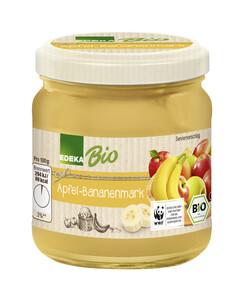 EDEKA Bio Apfel-Bananenmark 205G