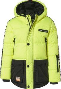 Skijacke TIDE  gelb Gr. 128 Jungen Kinder