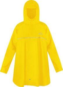Kinder Regenponcho Mawsynram Regenjacken gelb Gr. one size