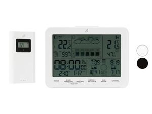 AURIOL® Design-Funkwetterstation, mit Touch-Sensoren