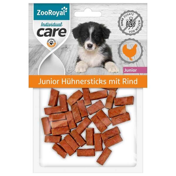 ZooRoyal Individual care Junior Hühnersticks mit Rind 3x70g