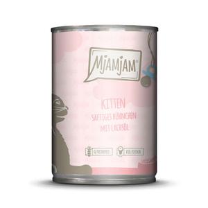 MjAMjAM - Kitten saftiges Hühnchen mit Lachsöl 6x800g