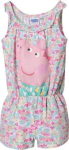 Peppa Pig Jumpsuit , Organic Cotton rosa Gr. 116/122 Mädchen Kinder