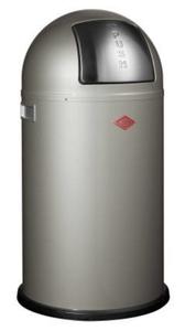 Wesco Pushboy 50 Liter neusilber