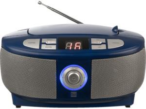 DUAL P 49-1 Radiorecorder, Blau