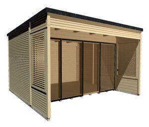 WEKA-Design-Gartenhaus »Cubilis 2.0«