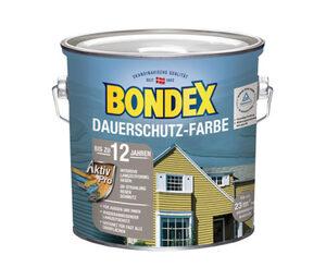 Bondex 2er-Set Dauerschutz-Farbe, je ca. 2,5 l, Taubenblau