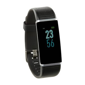 "MEDION LIFE® Fitnessarmband S3500, 2,44 cm (0,96"") Display, flexibles Armband, Bluetooth, Schlafüberwachung, Kalorienverbrauchsmesser, Schrittzähler (B-Ware)"