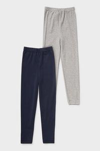 C&A Multipack 2er-lange Unterhose-Bio-Baumwolle, Blau, Größe: 98-104