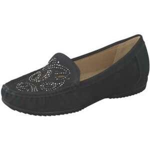 smiling for feet Mokassin Damen schwarz