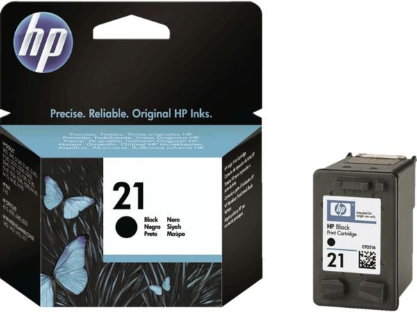HP 21 Tintenpatrone Schwarz (C9351AE)
